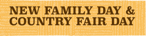Country Fair Day banner